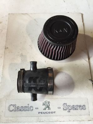 peugeot 205 1.6 / 1.9 Gti  K&n Air Filter Induction Kit With Pipe 6 Weeks Old